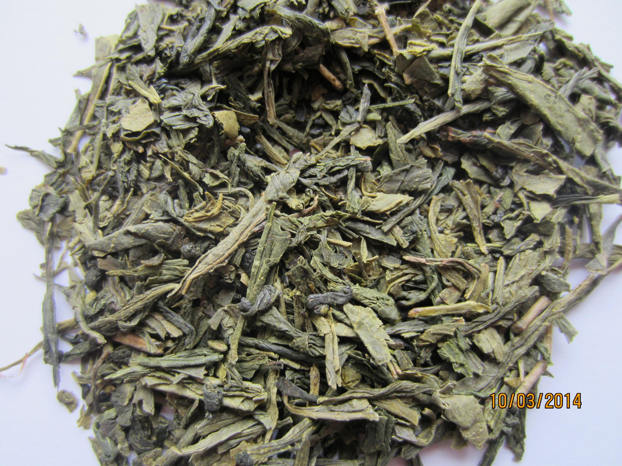 Мацеста зелёный пропаренный чай